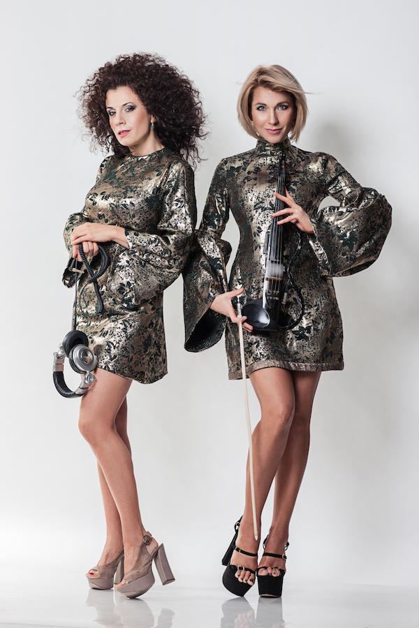 Das Duo Damenband München Geigerin DJane